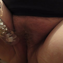 Hairy Pussy About To Get Some Much Needed Attention