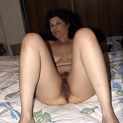 Her Big Tits And Hairy Pussy Are Perfect