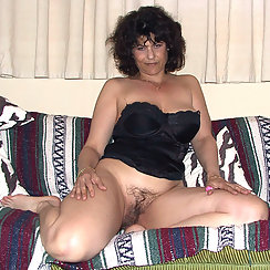 Erotic MILF Has A Very Hairy Surprise