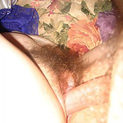 Fucking Babe's Hairy Bush Until He Cums