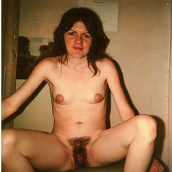 Mom Has Puffy Nipples, Hairy Pussy And Loves Exposing Herself